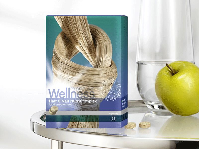 Complexo Nutritivo para Cabelo e Unhas Wellness by Oriflame