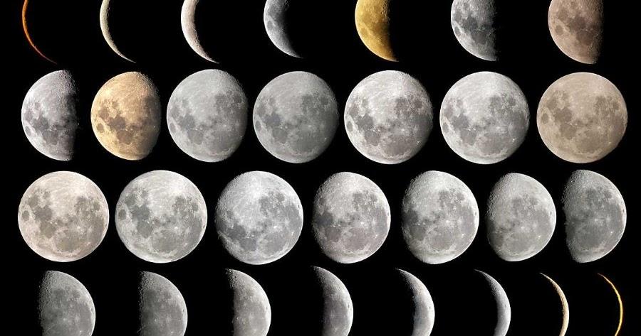 El Selv Tico Calendario Lunar Venezuela Fases De La Luna