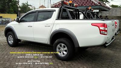 mitsubishi strada triton 4x4 tahun 2018