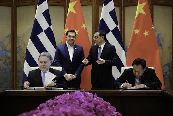 Υπεγράφη το νέο τριετές Πλαίσιο Συνεργασίας: Kινεζικό ενδιαφέρον για επενδύσεις στην Ελλάδα