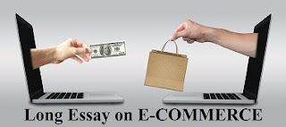 Long Essay on E-COMMERCE