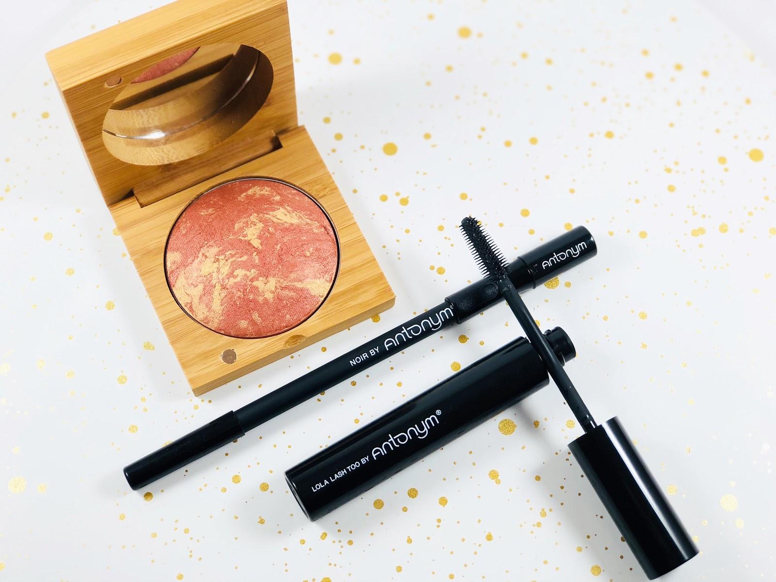 7cfc2a60021 Antonym Cosmetics. Certified Organic Baked Blush Copper. Certified Natural  Eye Pencil Noir. Certified Organic Mascara Lola Lash Too