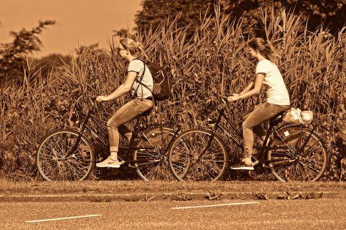 zadeldekje fiets