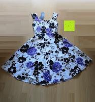 Erfahrungsbericht: mixinni® Damen A-Linie Kurz Rockabilly Kleid 1950er Vintage Faltenrock Cocktail Partykleid Sommerkleid