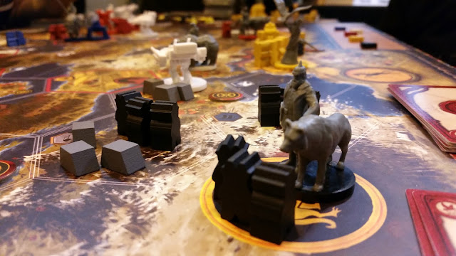 Scythe prototype board game review