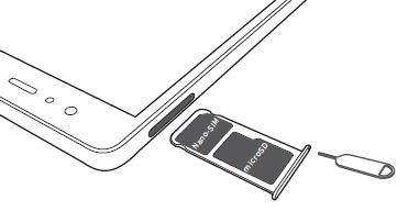 Come rimuovere SIM Huawei Ascend P9 + memoria micro sd