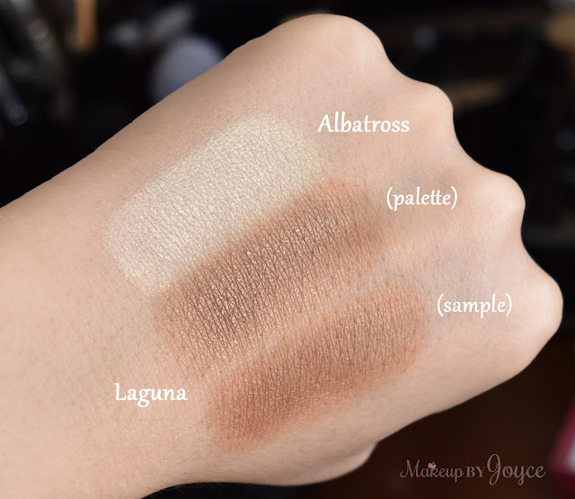 Nars Albatross Highlighter Laguna Bronzing Powder Swatch