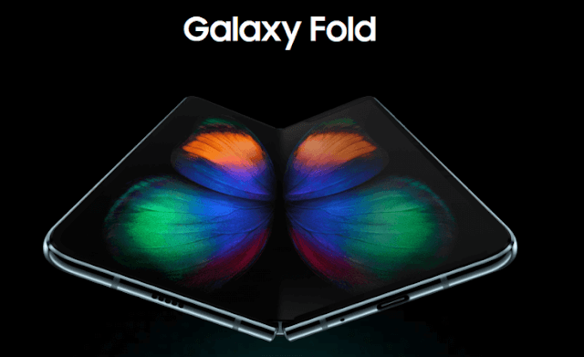 Samsung Galaxy Fold with Dual Displays, Dual batteries and 6 cameras now official