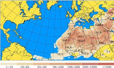 Se espera densa calima Canarias 17 febrero