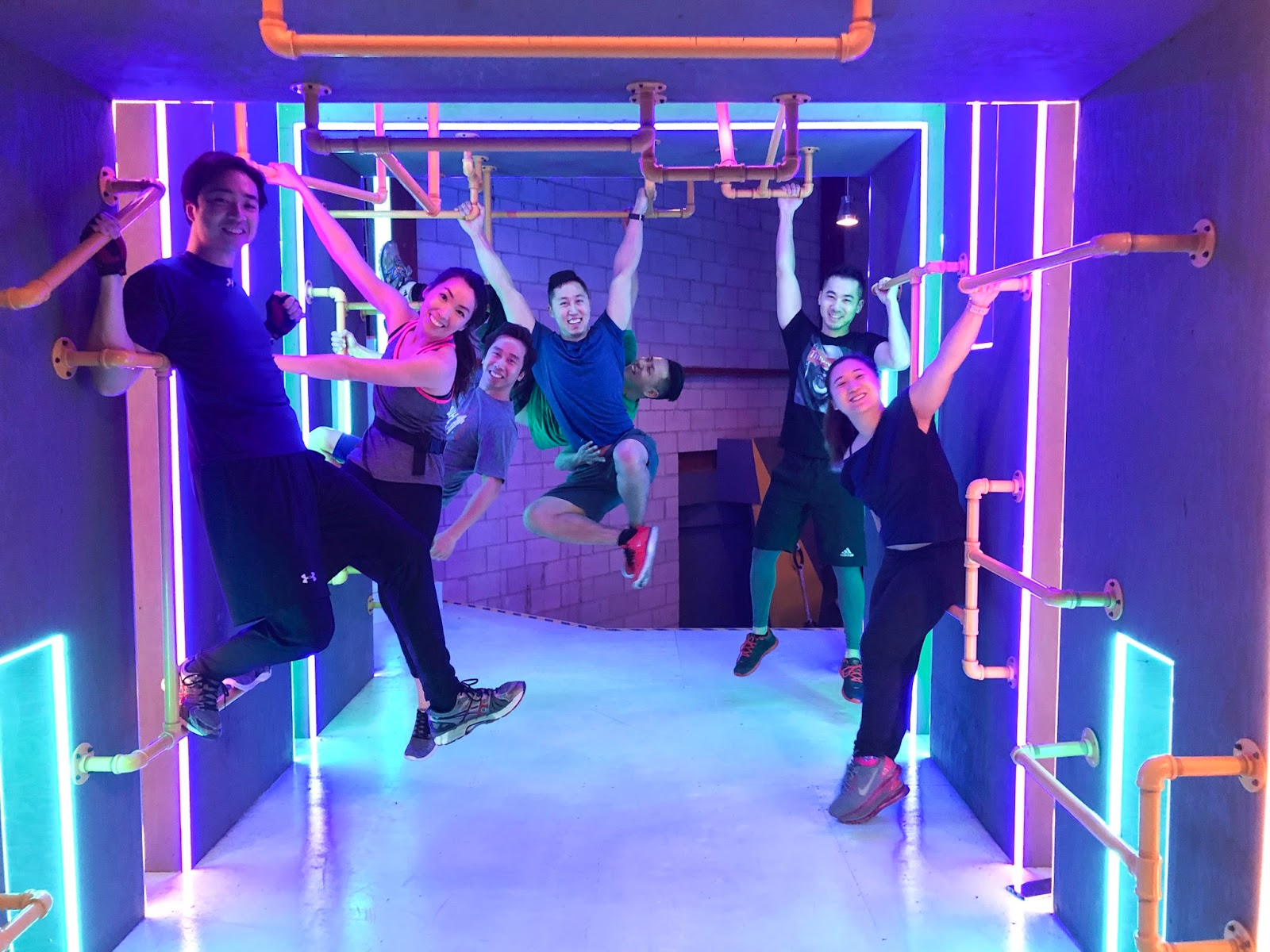 10 Fun Indoor Activities to do with Your BFFs in Winter - Indoor Obstacle Course Pursuit OCR