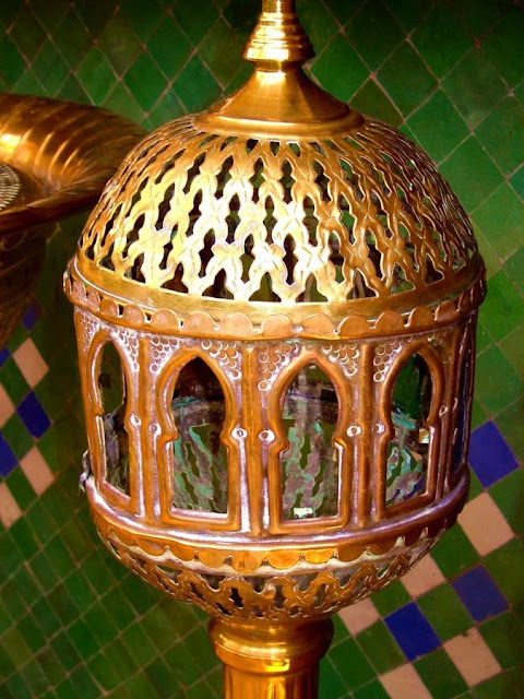Stara lampa. La Squala Casablanca