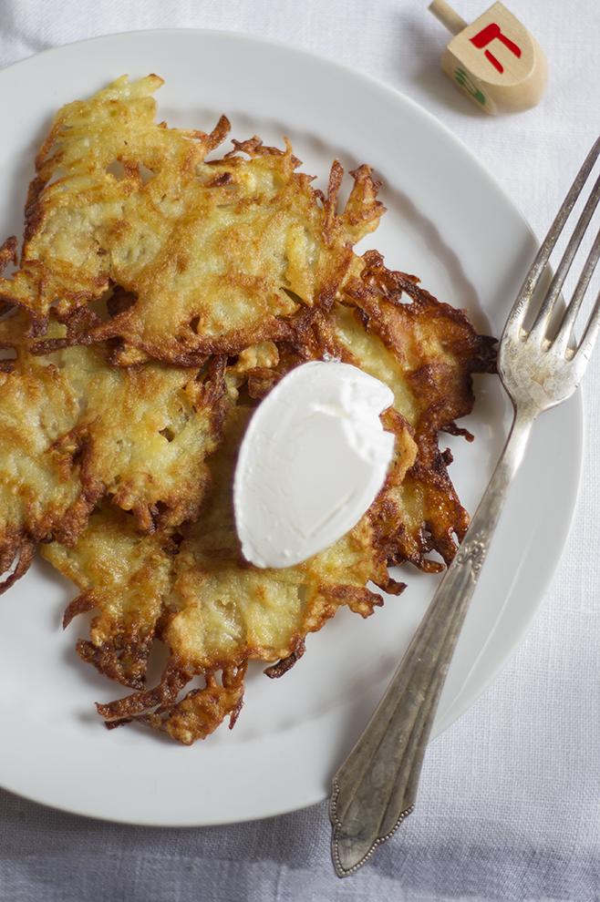Latkes - placki z ziemniaków