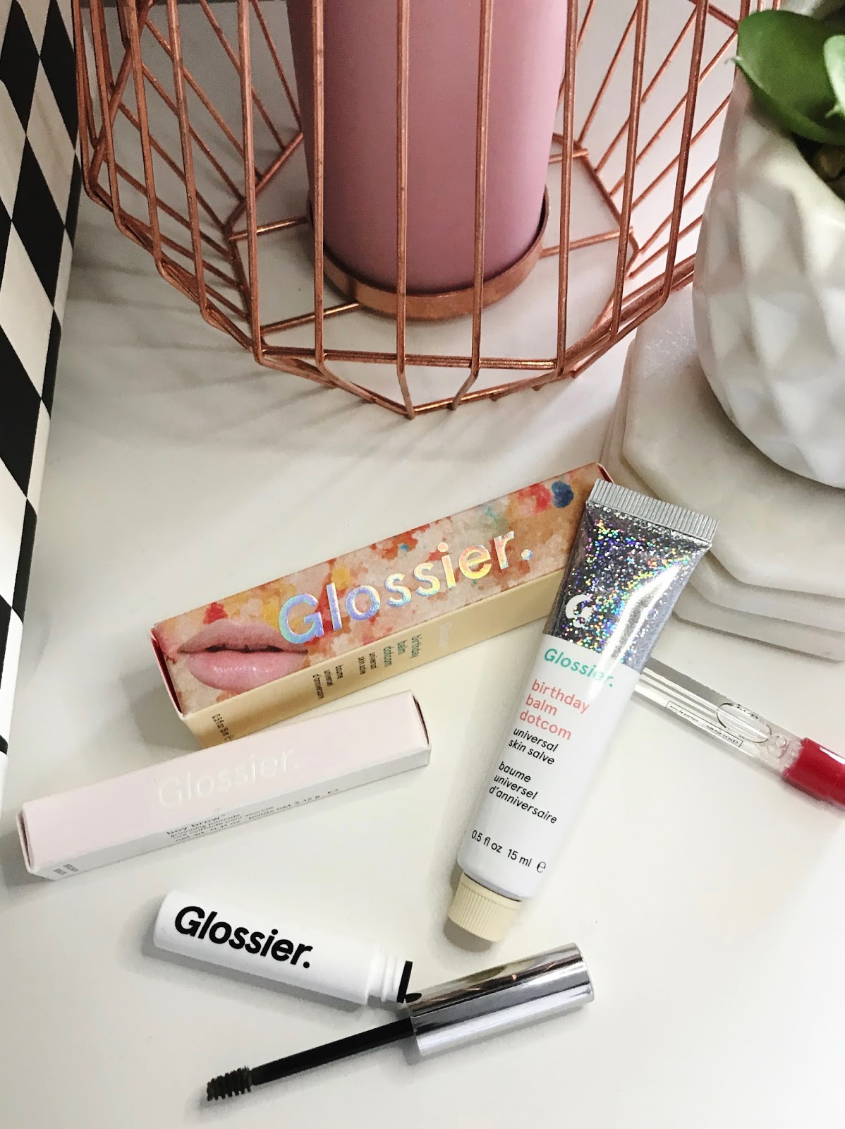Glossier Balm Dot Com In Birthday Cake LEO WITH CANCER My Style