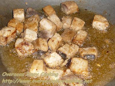 Tuna Salpicao, Fish Salpicao - Cooking Procedure