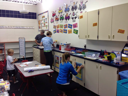 creative life designs: Setting up my classroom {taking shape}