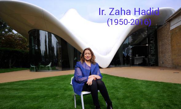 perjalanan karir arsitek hebat dan karya-karya ir. zaha hadid