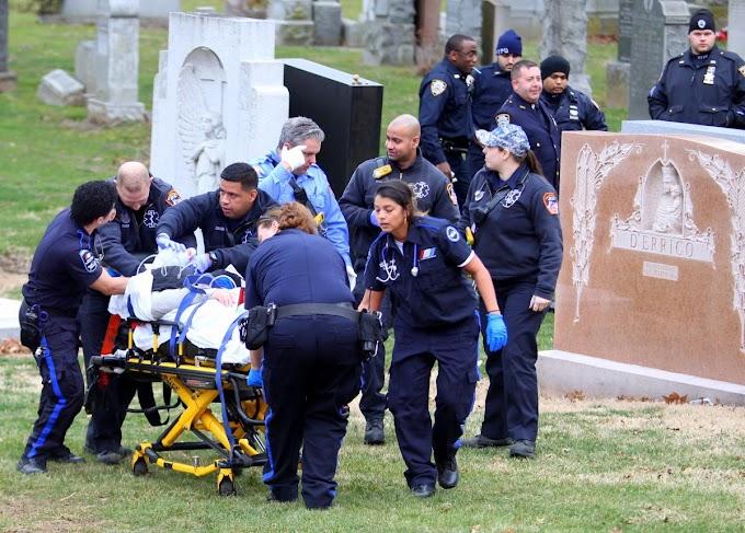 Anciano viudo de 83 se suicida ante la tumba de su esposa en cementerio de Queens