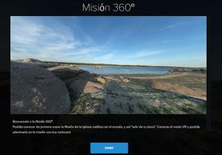 Haz un recorrido por las misiones en Realidad Virtual
