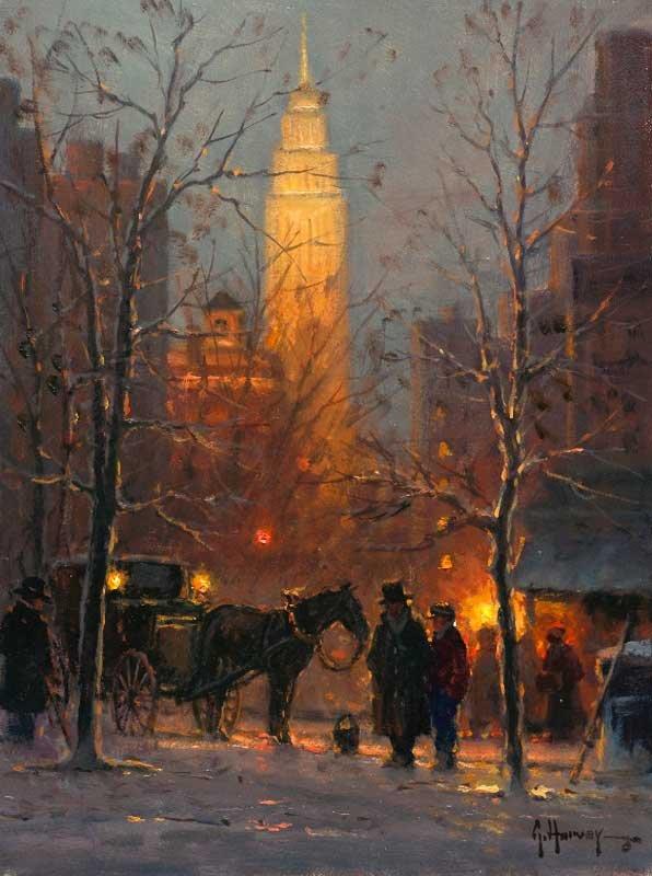 Gerald Harvey Jones 1933 Western Painter Tutt Art Pittura Scultura Poesia Musica