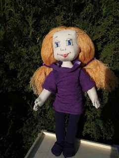 Lininė lėlė, rankų darbo lėlė, dovana mergaitei, dovana jai, kalėdinė dovana, žaislai vaikams, žaislas vaikui, akcija žaislams