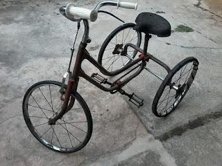 BARANG ANTIK ONLINE : Dijual Trike Sepeda Roda 3 Inggris
