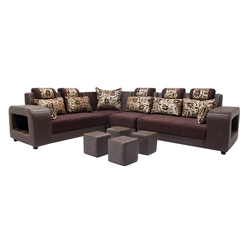 wooden sofa designs for living room cheap corner sofas interior palace drawing online best deals on woodpecker saffron six seater sectional 1 fabulous design