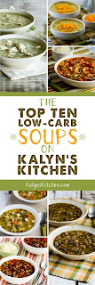 Low-Carb Recipe Love: The Top Ten Low-Carb Soup Recipes on Kalyn's Kitchen found on KalynsKitchen.com