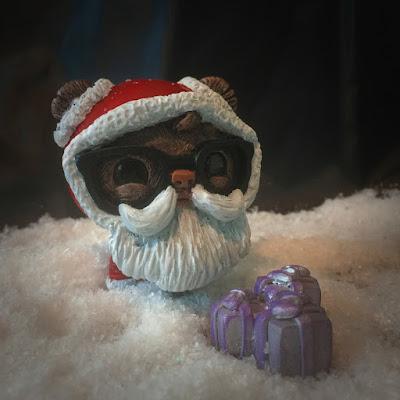 """Father Geekmas"" GeekWok Star Wars Ewok Resin Figure by UME Toys"