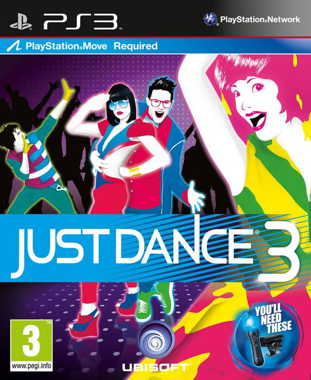 [PS3] Just Dance 3 ~ Hiero's ISO Games Collection