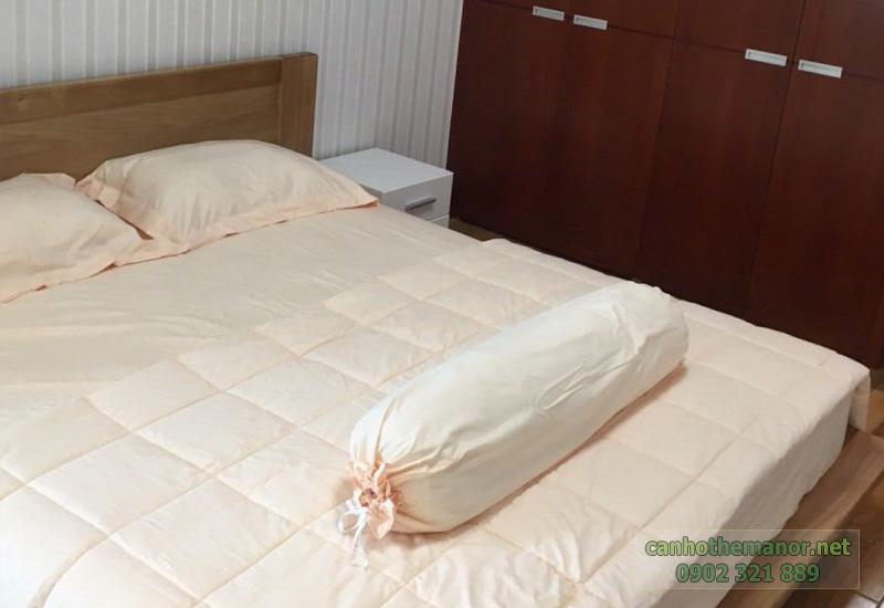 phòng ngủ căn hộ The Manor 51m2