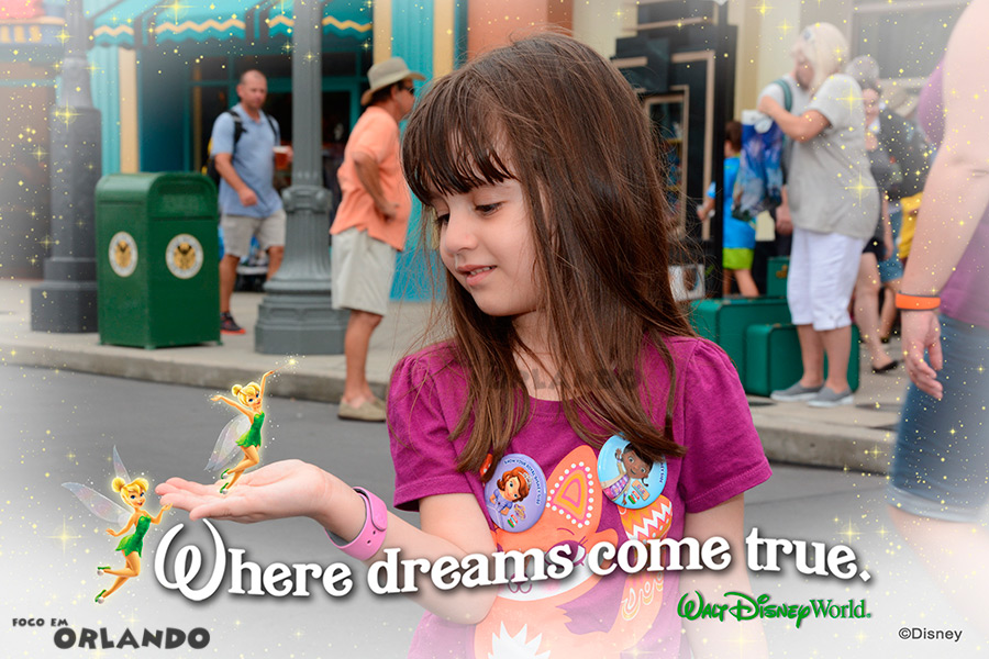 Magic shot, Tinkerbell, Walt Disney World, Orlando