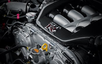 Wallpaper: Nissan GTR Engine