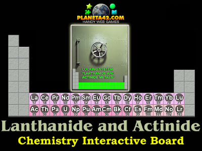 Lanthanide and Actinide Metals Game