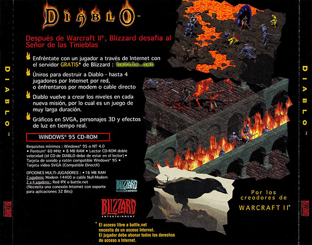 Diablo PC Estuche CD