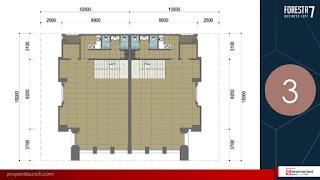 Denah Lantai FBL 7 - 3rd Floor