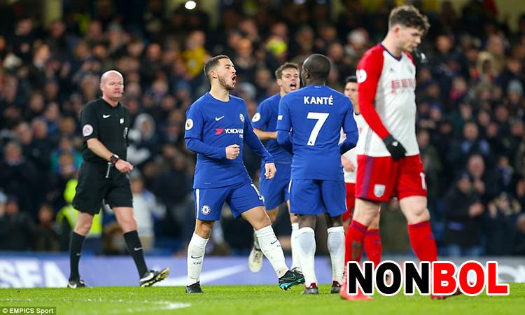 Cuplikan Gol Chelsea 3-0 West Brom | Liga Inggris Pekan 27