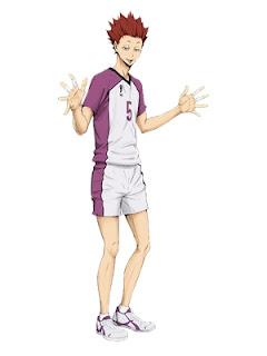 เท็นโด ซาโทริ (Tendo Satori) @ Haikyuu!! ไฮคิว!! คู่ตบฟ้าประทาน