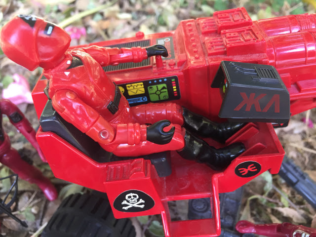 Action Force, Red Shadows, Red Laser, Laser Exterminator, HAL