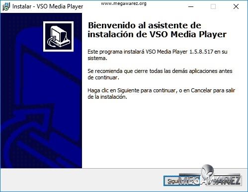 VSO Media Player imagenes