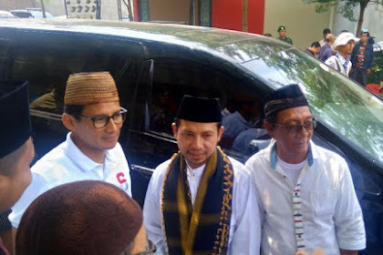 Taati Aturan KPU, Sandiaga Menolak Masuki Pesantren Al-Adzkar, Tangerang Selatan