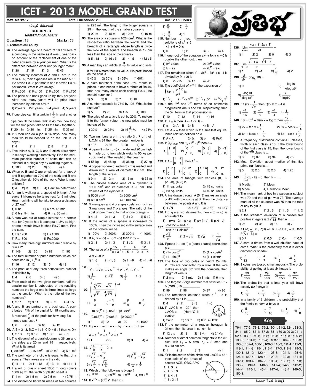 model cet papers