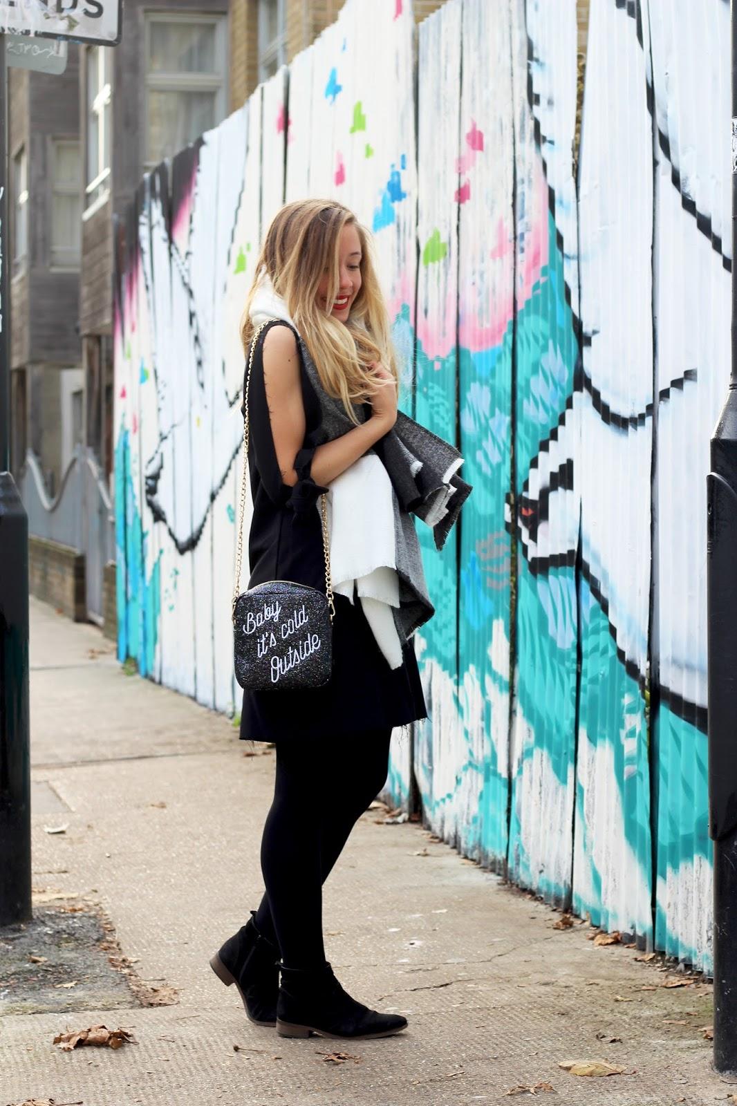blog mode tenue robe noire