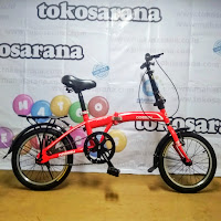 Sepeda Lipat Odessy ATX20 Folding Bike