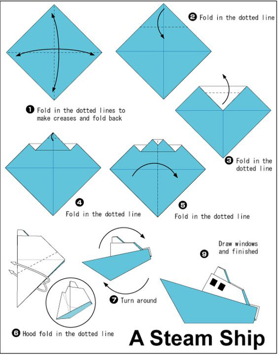 How To Fold Paper Boat Simple