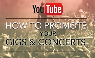 How to promote your gigs and concerts