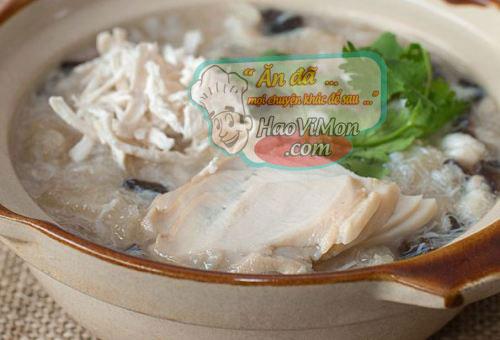 nhiều cách nấu món súp bào ngư ngon bổ