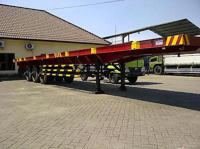 ekor truk trailer 40 feet