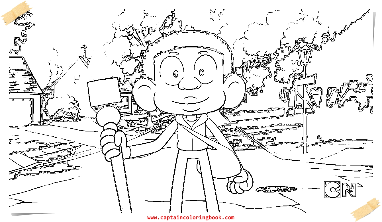 Coloring Page: Craig Of The Creek Coloring Page Printable