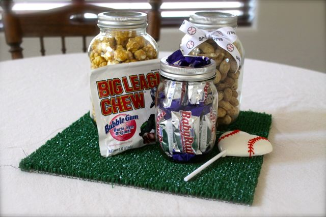 Sew In Love Baseball Baby Shower