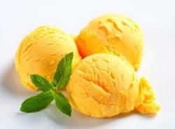Sorbetto al mango e lime